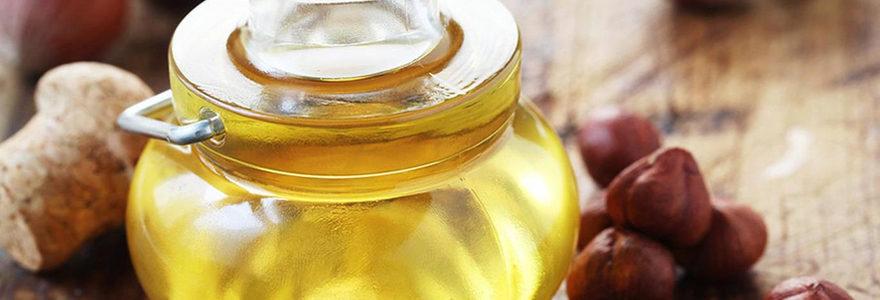 huile de noisette riche en CBD